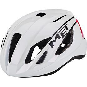 MET Strale Pyöräilykypärä , vaaleanpunainen/valkoinen
